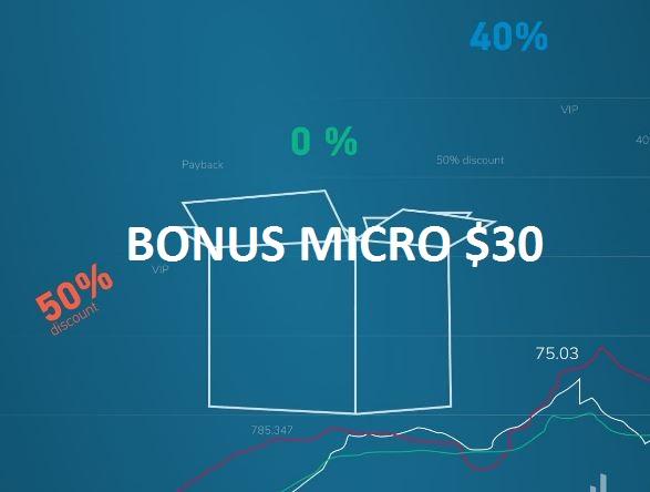 Bonus Deposit Grand Capital $30 (Bonus Micro)