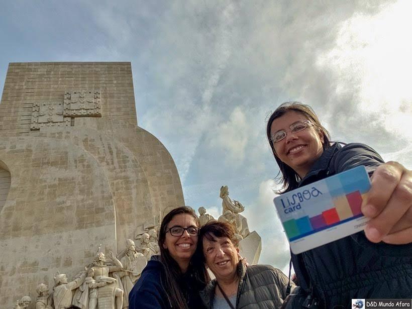 Padrão dos Descobrimento em Belém com desconto no Lisboa Card: como usar na capital de Portugal