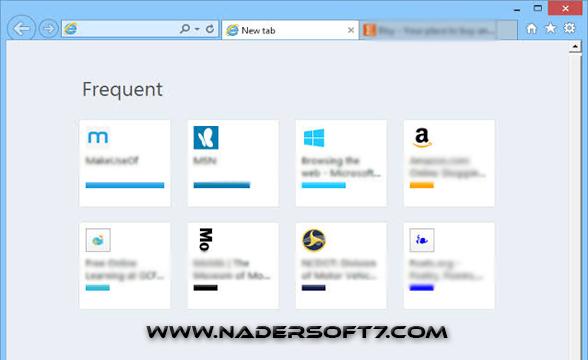 تحميل متصفح إنترنت إكسبلورر Internet Explorer  احدث اصدار مجانا