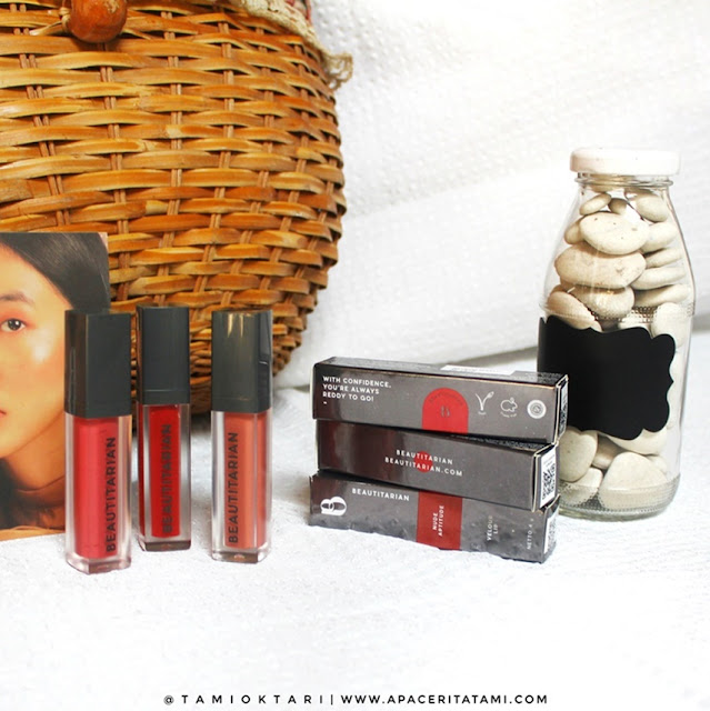 Review Beautitarian Velour Lip All Shades