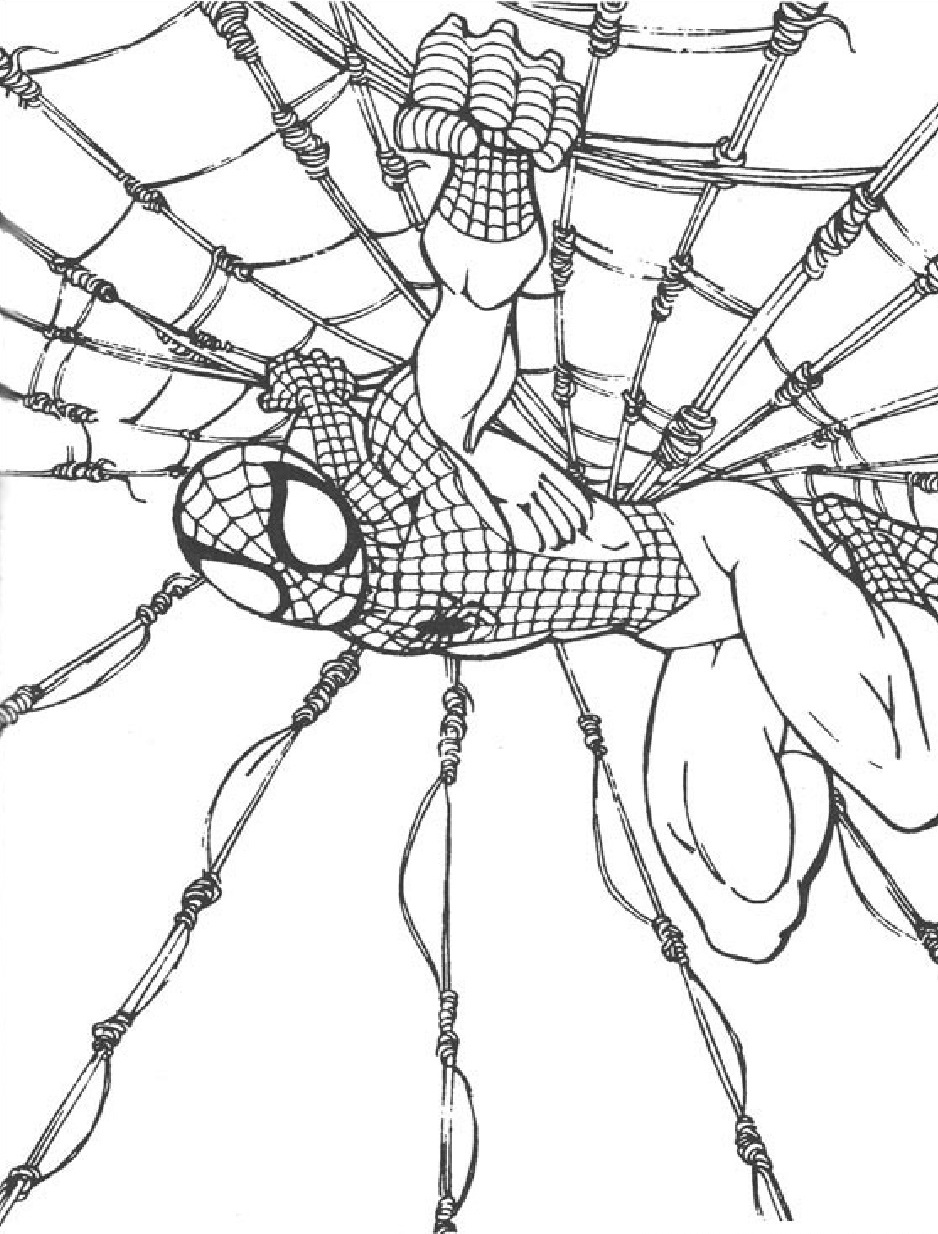 Yeni çocuk Boyamaları En Güzel örümcek Adam Boyamaları