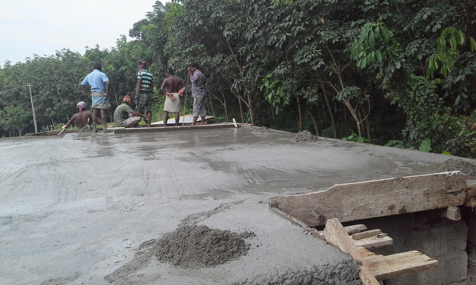 Kerala house construction tips 8 roof concrete for Concrete slab homes
