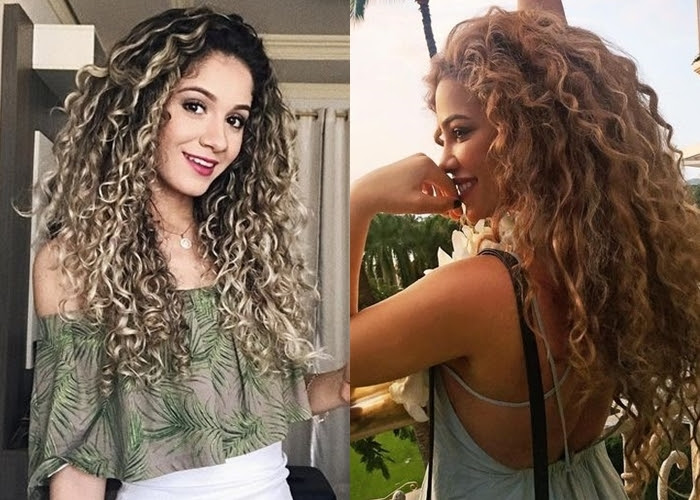 Mo De Muhelose Und Coole Locken Frisuren Fur Teenager Madchen