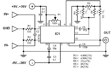 low-noise-preamp-circuit-diagram