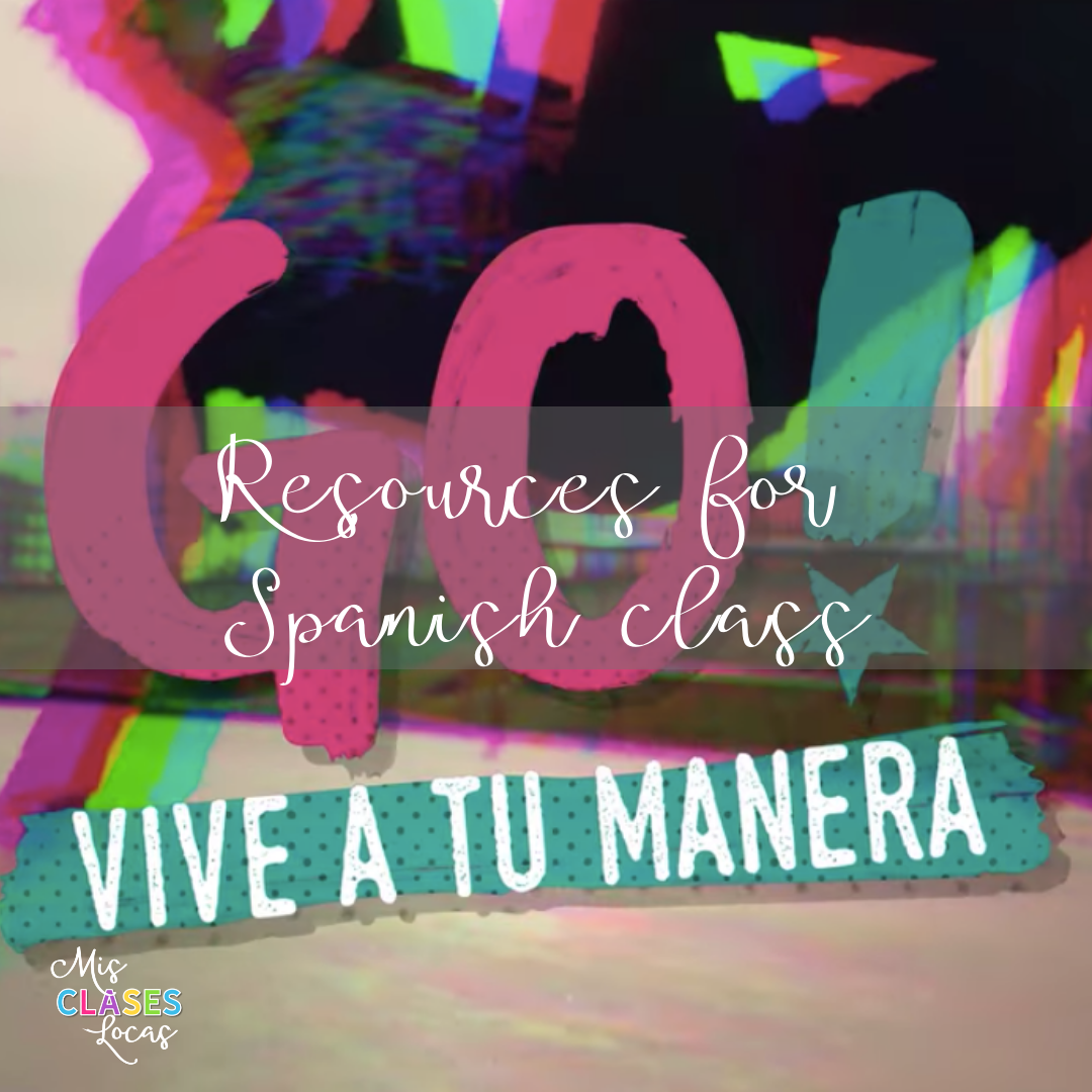 Resources to teach the Netflix show Go! Vive a tu Manera in Spanish class. - shared by Mis Clases Locas