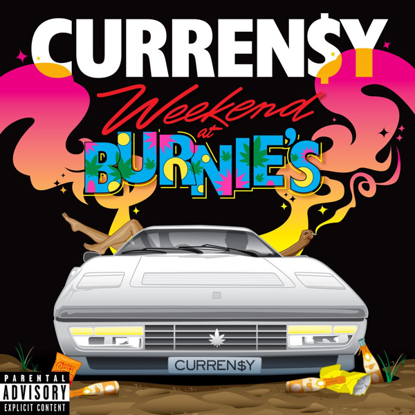 Curren$y - Weekend At Burnie's (Deluxe Version)  Cover