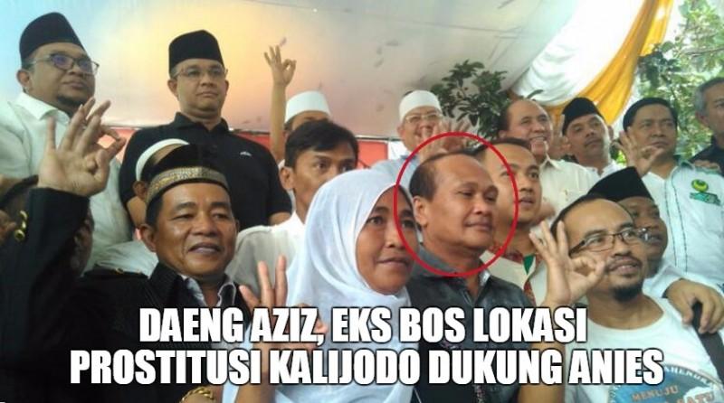 Daeng Aziz mendukung Anies-Sandi