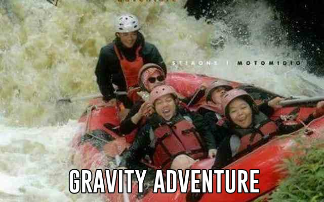 tempat wisata arung jeram gravity adventure