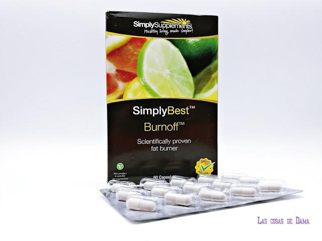 Burnoff Simply Supplements Operación Bikini beauty Complementos Alimenticios Adelgazantes, Detoxificantes Reductores verano