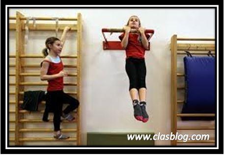 نمو الجسم عند الاطفال في تمارين رفع الاثقال