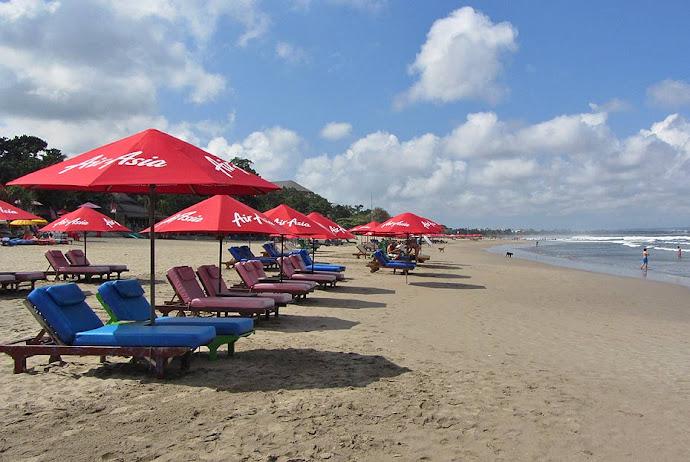 Hamachas en la playa