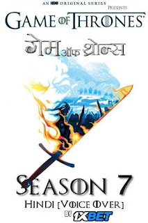 Download Game of Thrones Season 7 In Hindi Dubbed HDRip 1080p | 720p | 480p | 300Mb | 700Mb | Hindi | English | ESUB