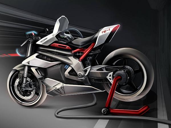 Triumph anuncia novidades no seu projeto de motos elétricas