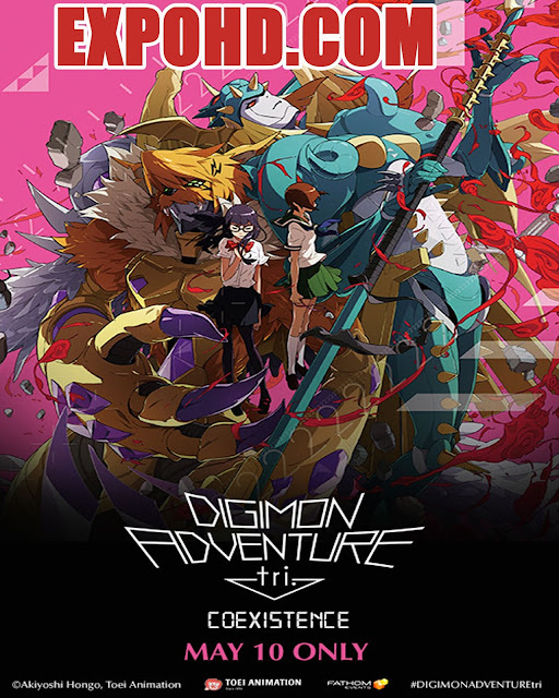 Digimon Adventure Tri. 5: Coexistence 2017 IMDb 480p | BluRay 720p | Esub 1.2Gbs [Watch & Download] G.Drive