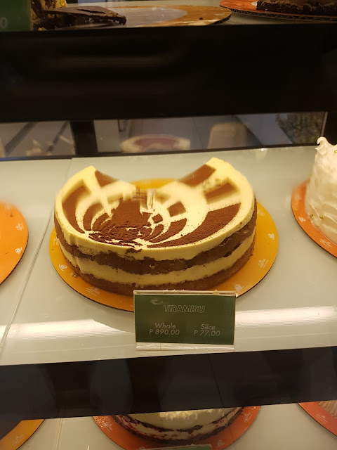 Leona's Bakeshop Tiramisu @P77.00 per slice
