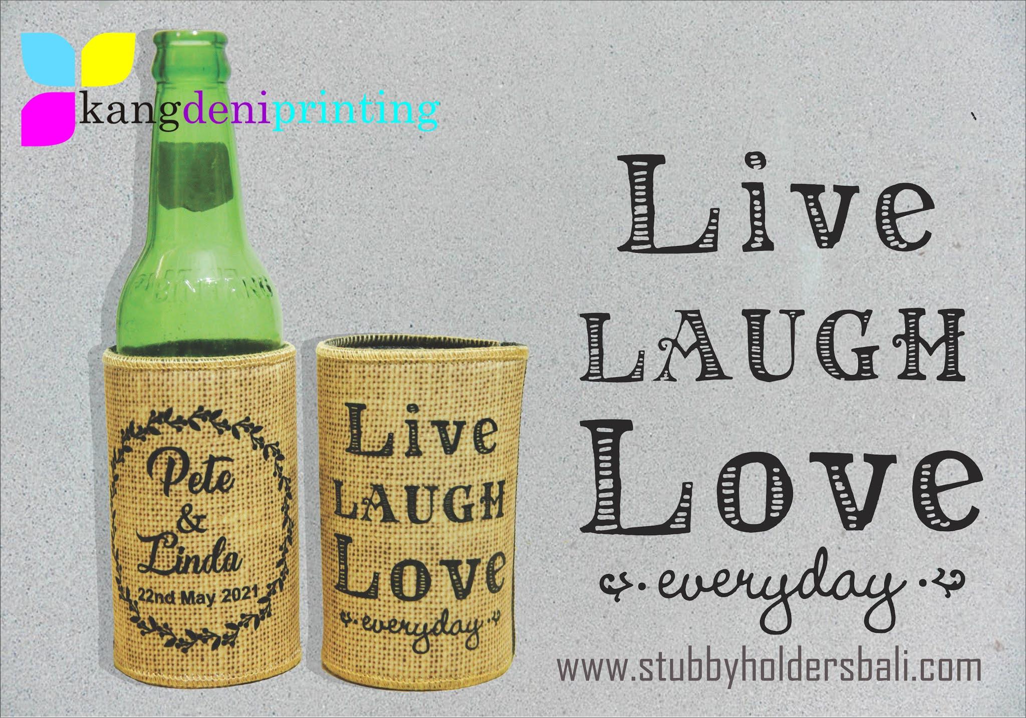 Product Image  Wedding Stubby Holder