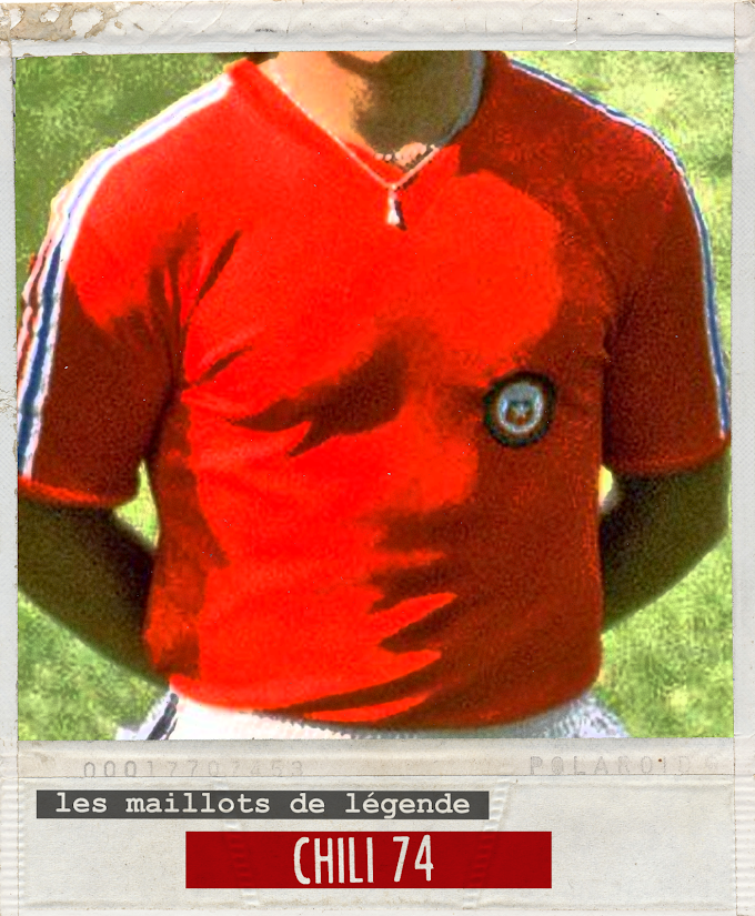 MAILLOT DE LEGENDE. Chili 1974.