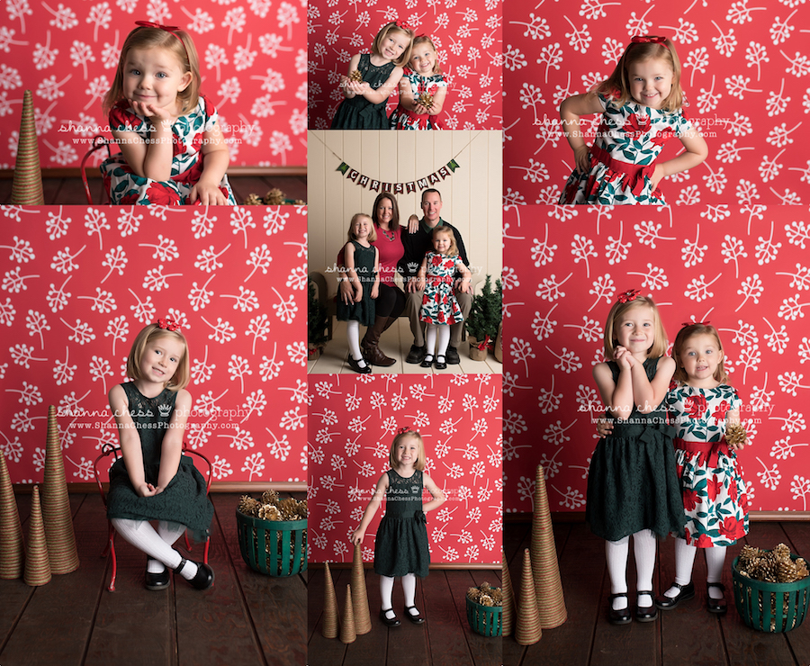 eugene oregon child photographer christmas