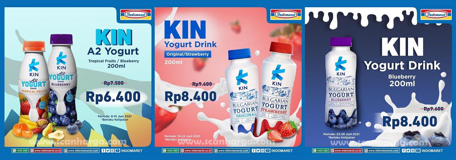 Promo INDOMARET Harga Spesial KIN Yogurt Juni 2021