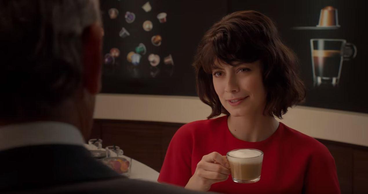 Canzone Nespresso Change nothing Pubblicità con George Clooney e l'attrice in rosso