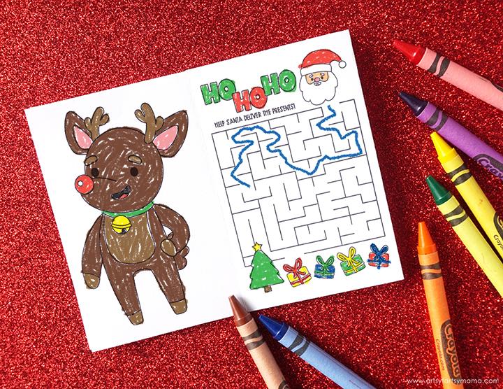 Free Printable Mini Christmas Activity Book