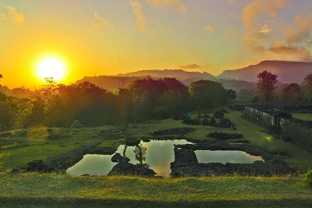 sunrise Istana Ratu Boko