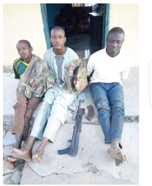 Joint police, army, DSS team arrests alleged kidnappers wearing military uniforms in Plateau State