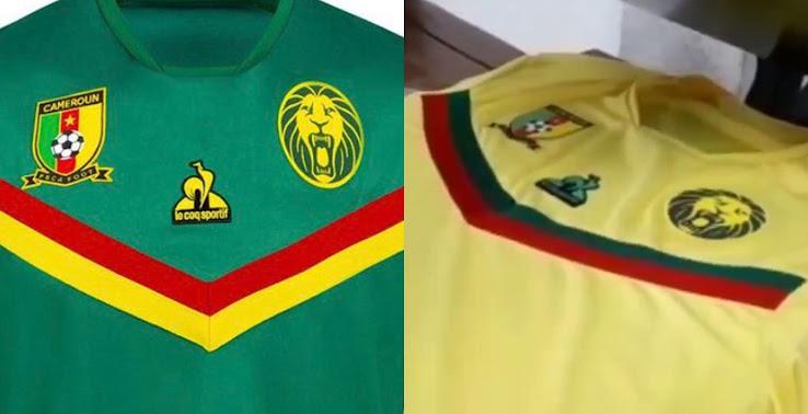 Cameroon 2021 Home & Away Kits Revealed - Footy Headlines