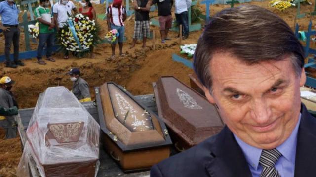 E daí? Se Bolsonaro não está nem aí para quem morre de coronavírus