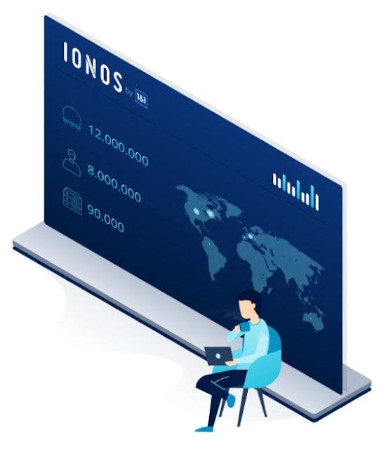 شرح خدمات ومميزات شركة ionos في استضافة المواقع و حجز الدومين!!