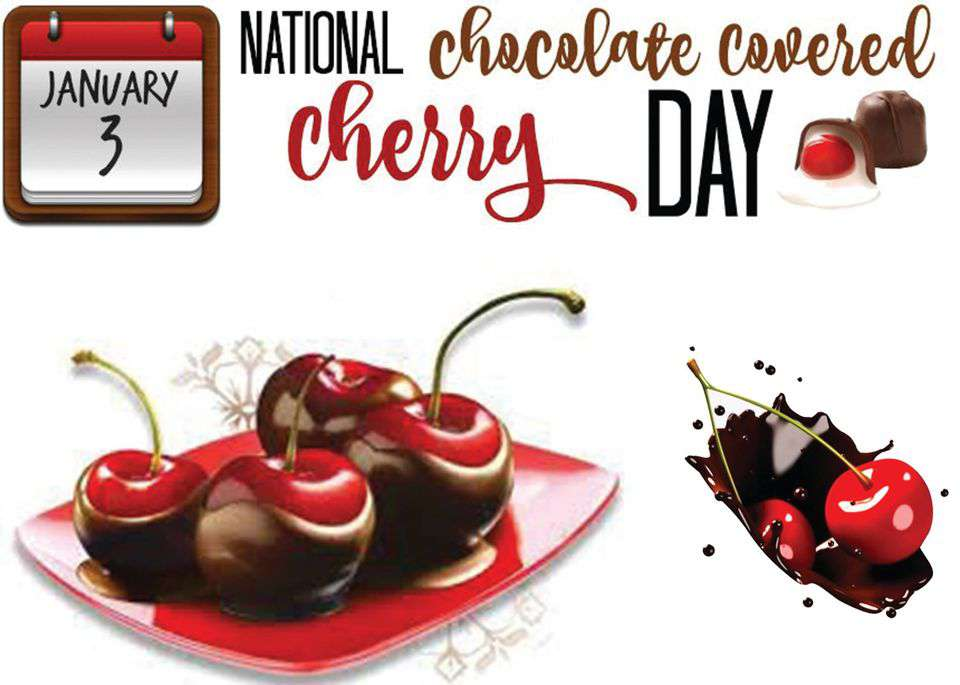 National Chocolate Covered Cherry Day Wishes Images download