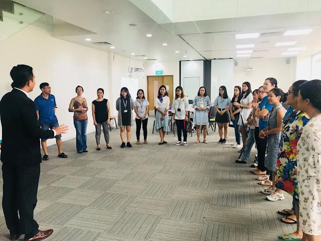 BODY LANGUAGE TRAINING FOR COGNITA VIETNAM'S EMPLOYEES