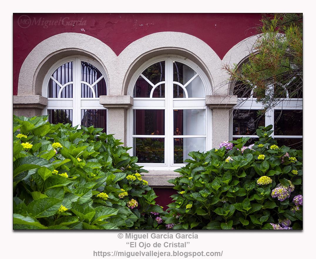 Parque y jardines del Centro Cultural As Torres de Santa Cruz (Pazo de Coruxo)