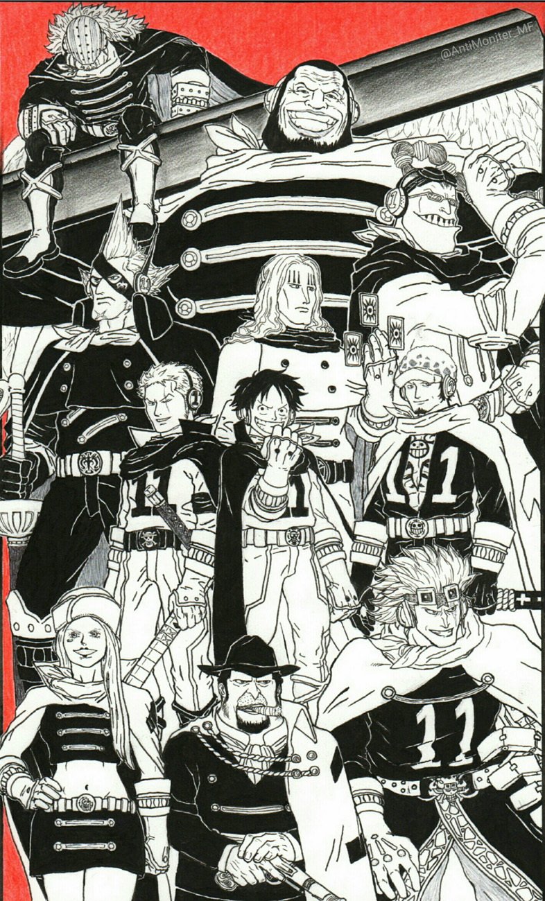 Baca online One Piece – Chapter 881 : Ruang Ombak