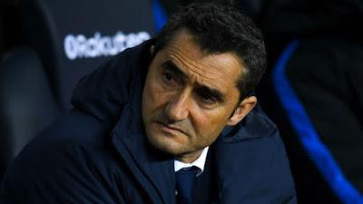 Pelatih Barcelona Ernesto Valverde - Judisessions