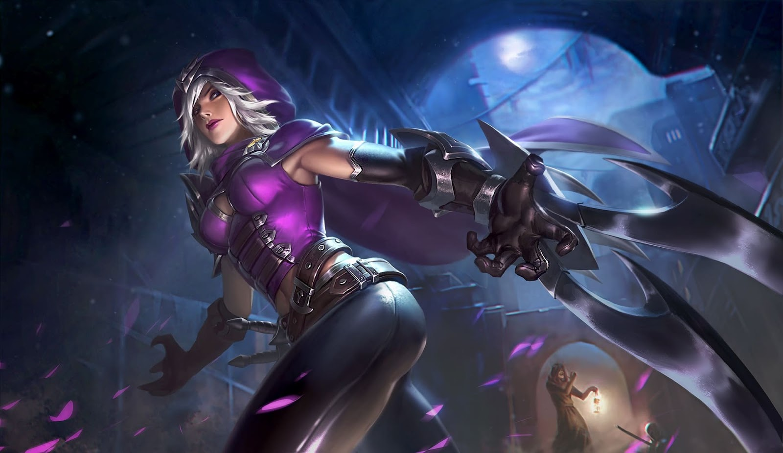 Wallpaper Natalia Glass Blade Skin Mobile Legends HD for PC