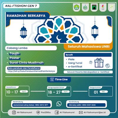 LSO AL-I'TISHOM Taja Ramadhan Berkarya