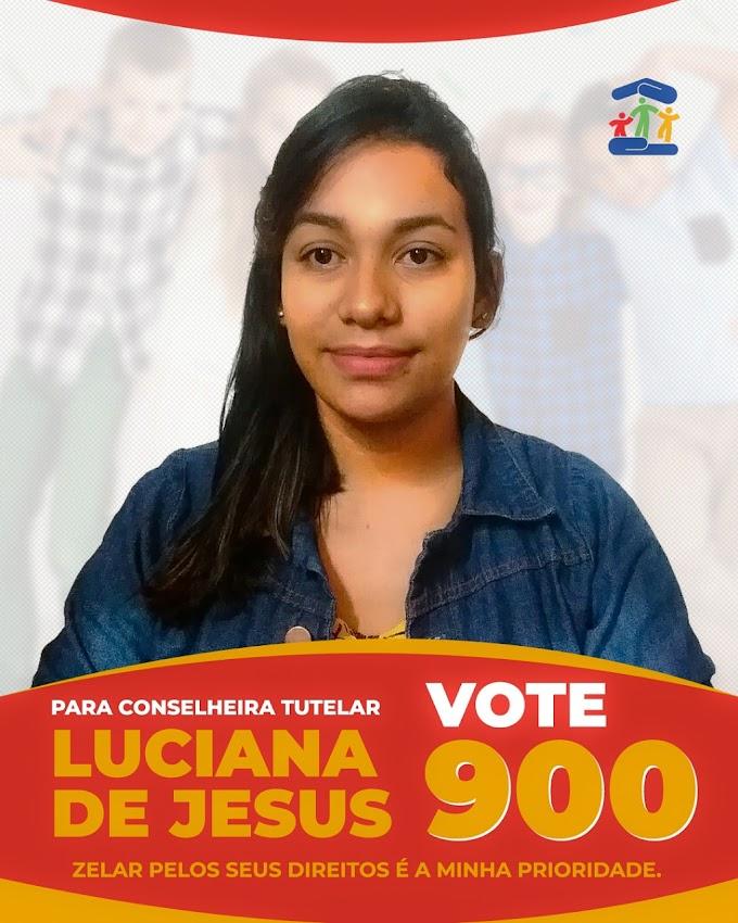 Eleições Conselho Tutelar: Candidata Luciana de Jesus