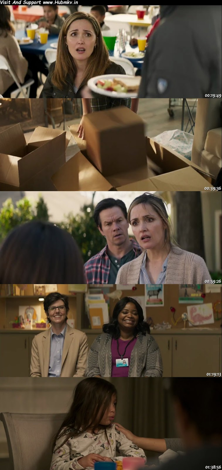 >Instant Family 2018 480p Dual Audio In [Hindi English]
