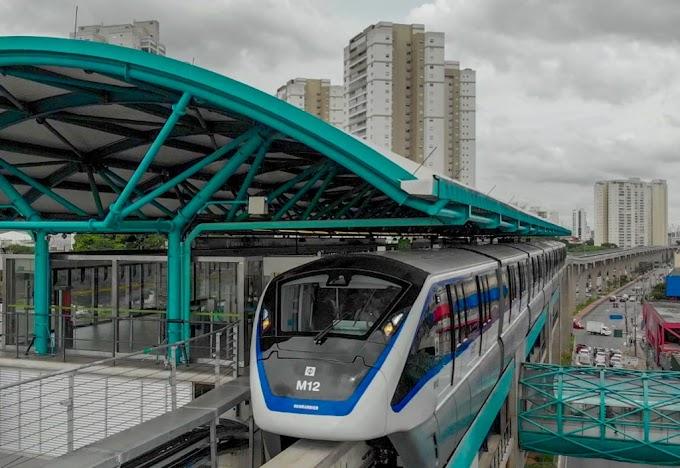 Linha 15-Prata do monotrilho falha novamente e ramal já é recordista de falhas em Dezembro.