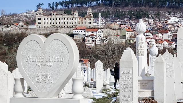 Soldiers burried in Sarajevo