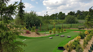 Adventure Golf course at Clarkes Golf Centre in Rainford, St Helens