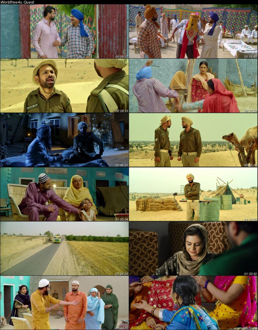 Ranjha Refugee 2018 Punjabi Movie Download HDRip    1080p    720p    480p