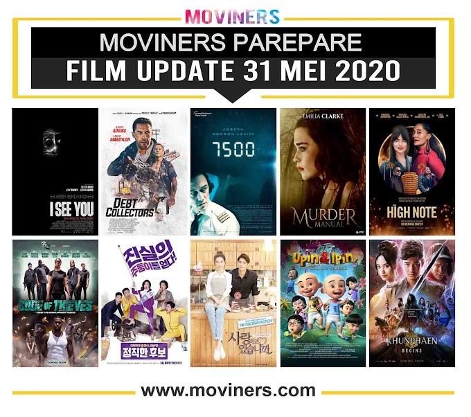FILM UPDATE 31 MEI 2020