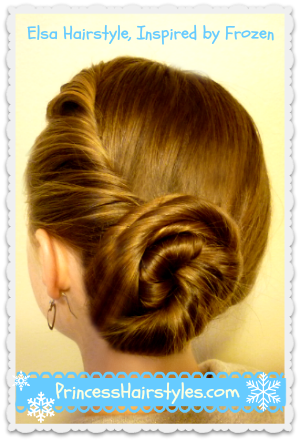 elsa hairstyle tutorial inspired
