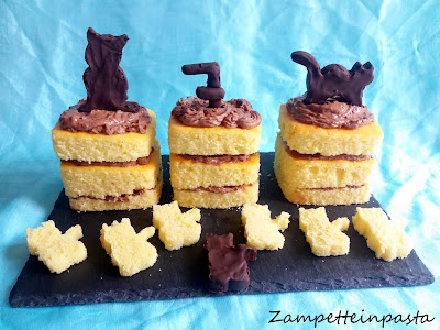 Mini naked cake - Ricetta naked cake