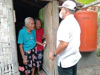 Kesulitan Air Bersih, Kadin Batubara Bangun Sumur Bor Untuk Nenek Ulung dan Mariam