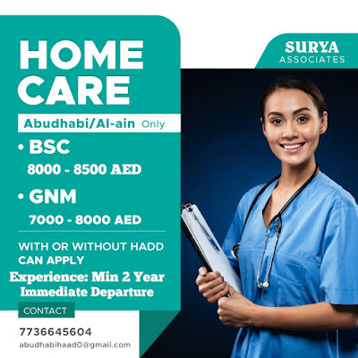 NURSES FOR HOME CARE IN ABU DHABI AND AL-AIN