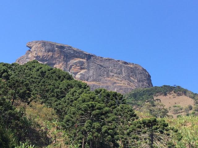 Pedra do Baú, em São Bento do Sapucaí, na Serra da Mantiqueira