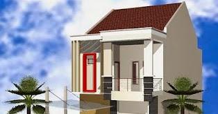 Contoh Desain Rumah Minimalis 2 Lantai tipe 45 Terbaik ...